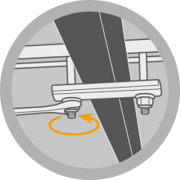 Befestigungsset Long für AUTOHOME-Dachzelt